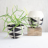 Teeth Bowl // Planter - Black