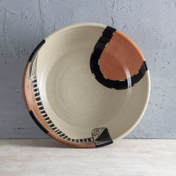 Earth Pathways - Rounded Platter