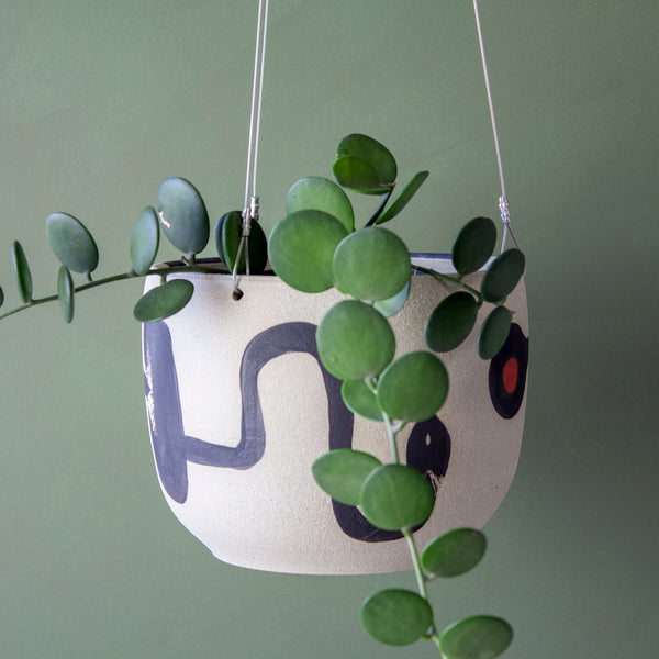 Think Ahead rounded Lg Hanging Planter