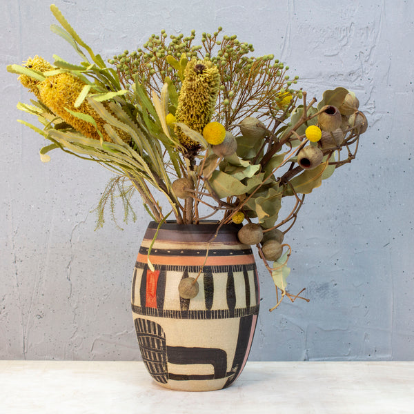 Spotted Path Vase