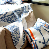 Hand Painted Linen Cushion #C002