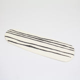 Stripey Road #3 Ceramic Platter