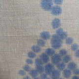 Double Diamond Tea Towel Art - Indigo