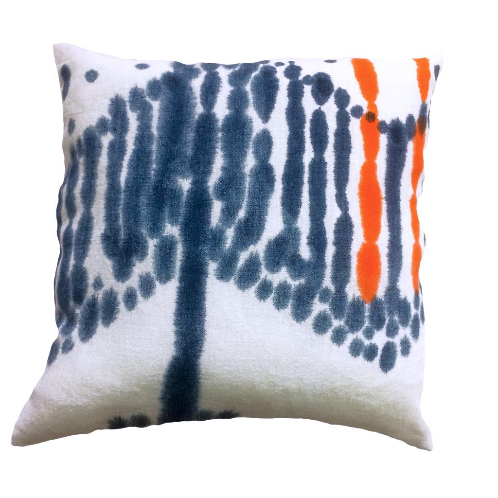 Hand Painted Linen Cushion #C003