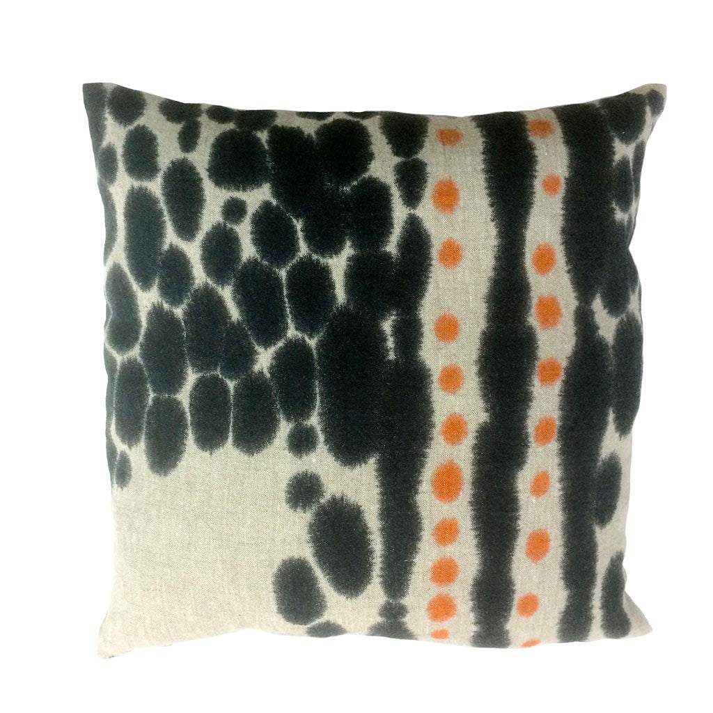 Hand Painted Linen Cushion #C005
