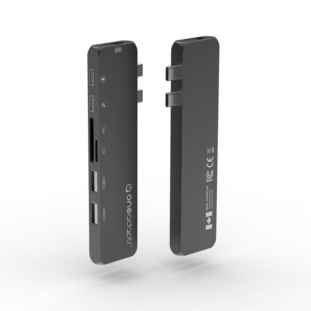 The Evri MAX and FLEX USB C hub with 4k HDMI travel product recommended by Michael Ma on Lifney.