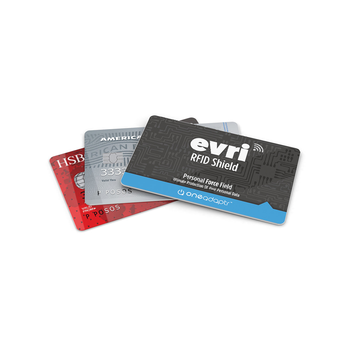 EVRI RFID Shield: Personal Force Field (Pack of 3)