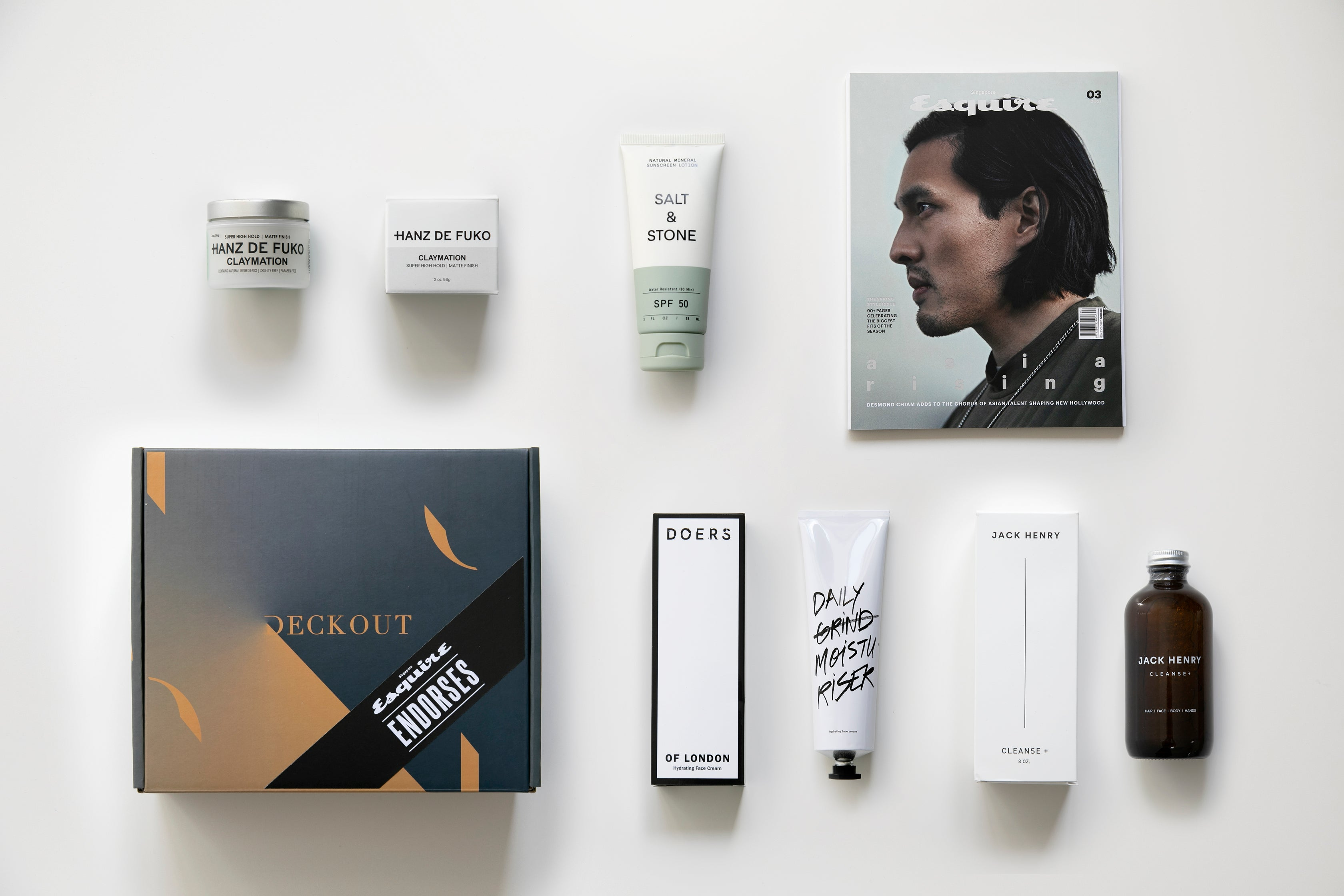 Esquire Endorses + DeckOut Grooming Box