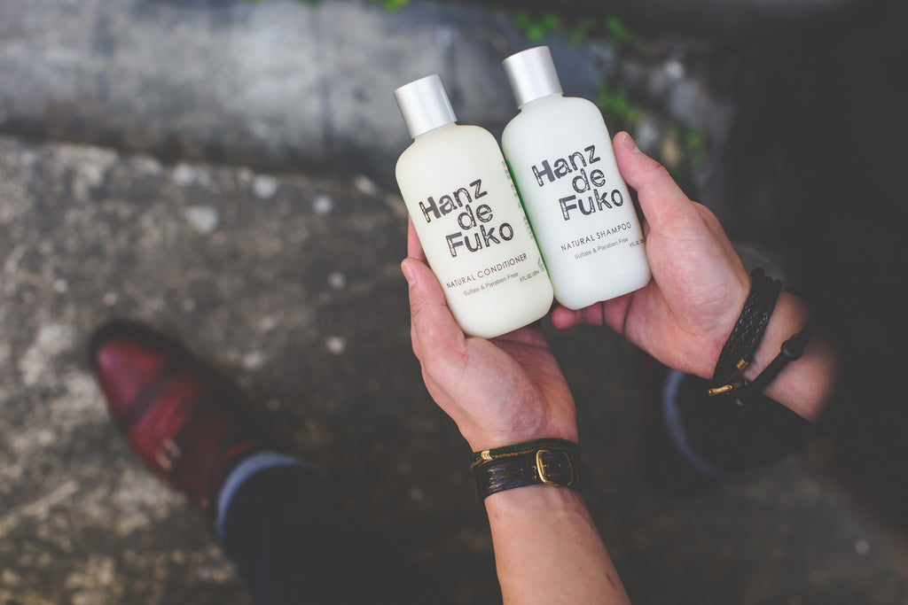 Hanz de Fuko Natural Shampoo and Natural Conditioner
