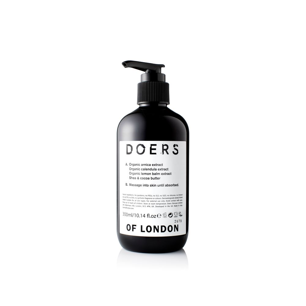 Doers of London Body Lotion | 10% off first order | Free express shipping and samples