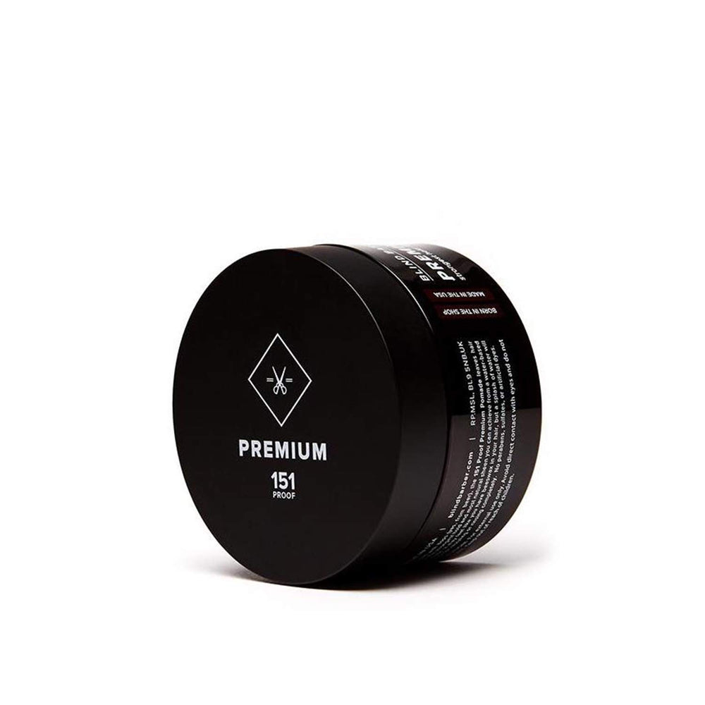 Blind Barber 151 Proof Premium Pomade | 10% off first order | Free express shipping and samples
