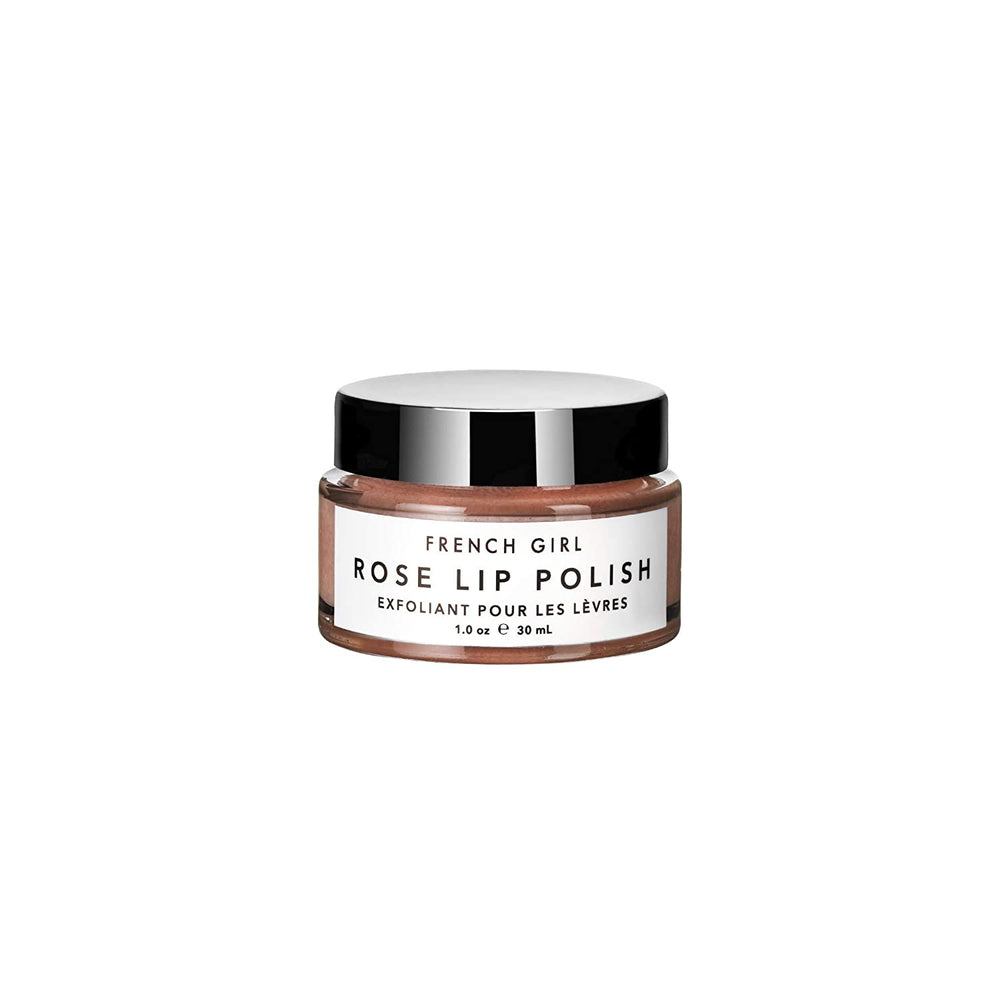 French Girl Organics Rose Lip Polish | 10% off first order | Free express shipping and samples