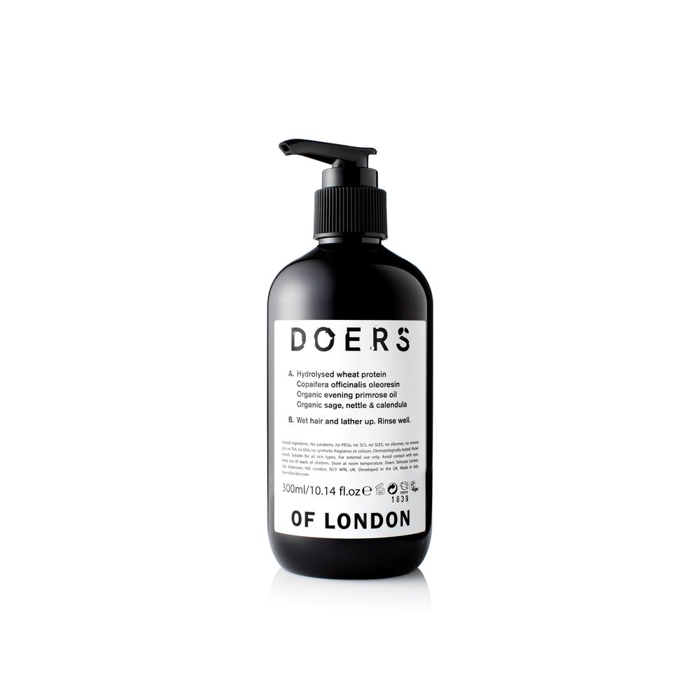 Doers of London Shampoo | 10% off first order | Free express shipping and samples