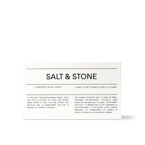 Salt and Stone Cleansing Facial Wipe at DeckOut