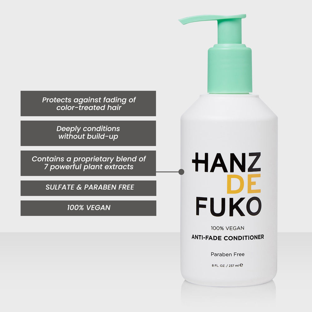 Hanz de Fuko Anti-Fade Conditioner | 10% off first order | Free express shipping and samples