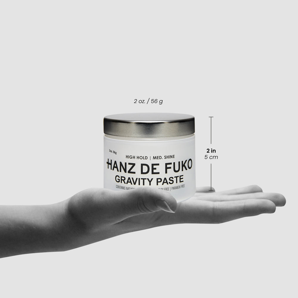 Hanz de Fuko Gravity Paste | 10% off first order | Free express shipping and samples