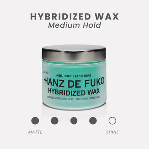Hanz de Fuko Hybridized Wax | 10% off first order | Free express shipping and samples