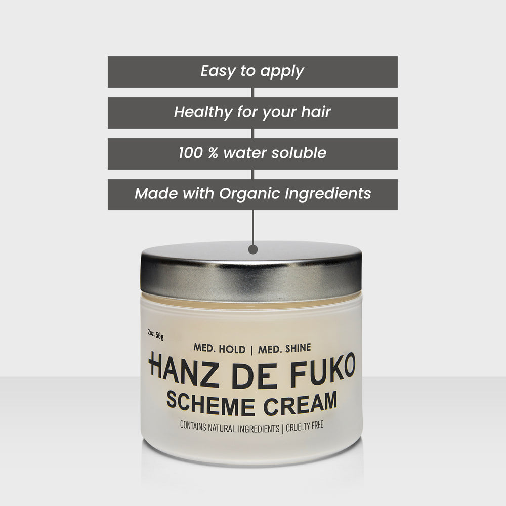 Hanz de Fuko Scheme Cream | 10% off first order | Free express shipping and samples