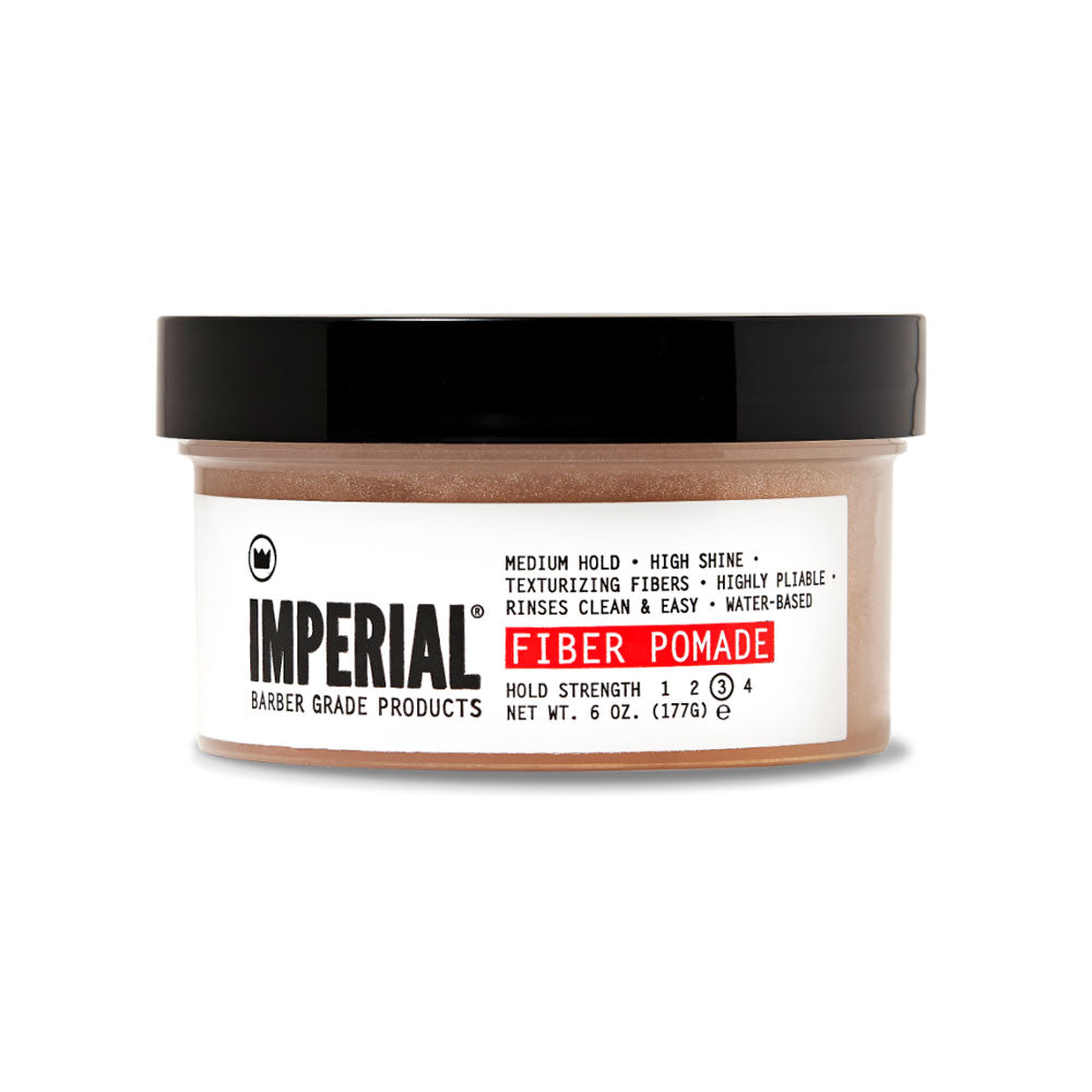 Imperial Barber Fiber Pomade | 10% off first order | Free express shipping and samples
