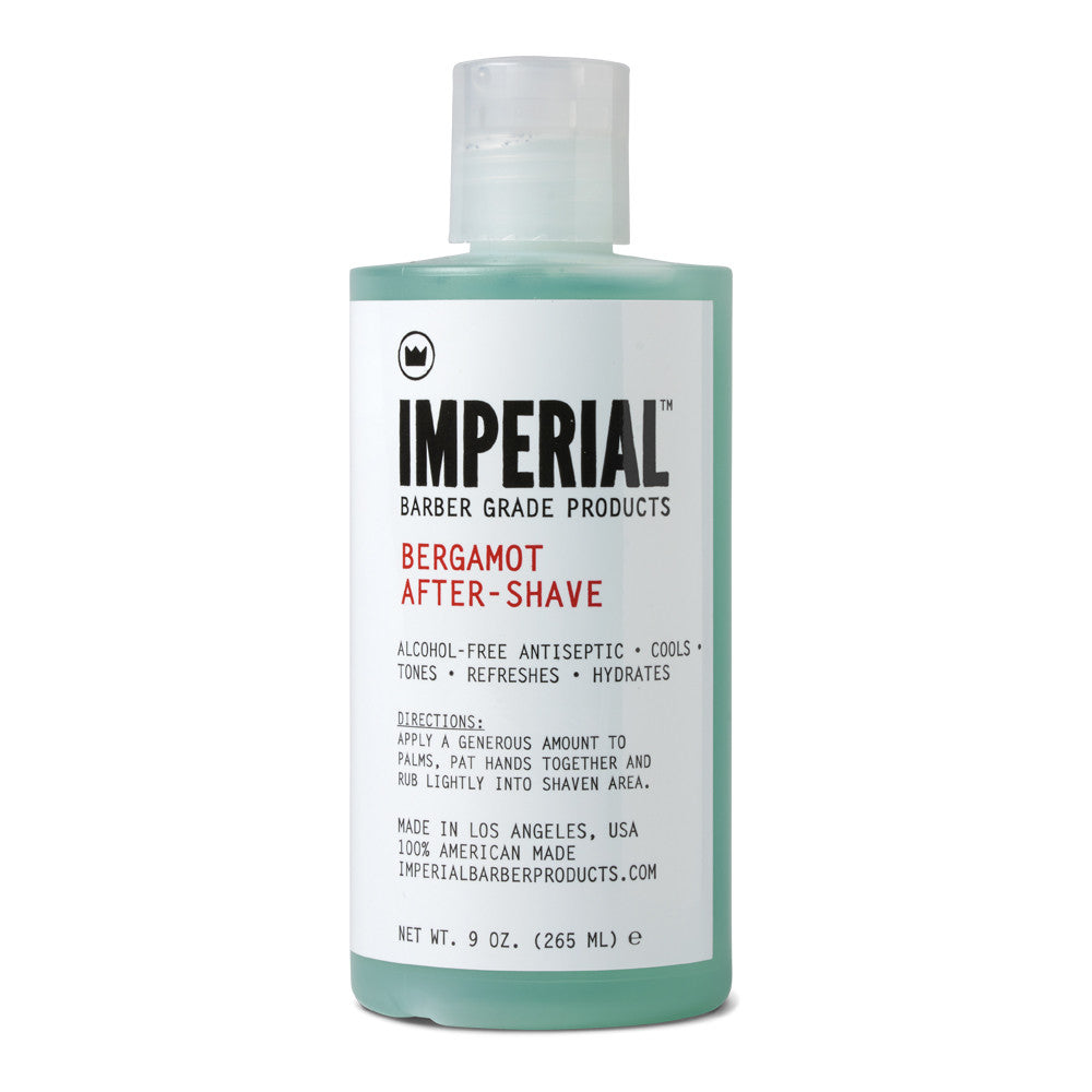 Imperial Barber Bergamot After Shave | 10% off first order | Free express shipping and samples