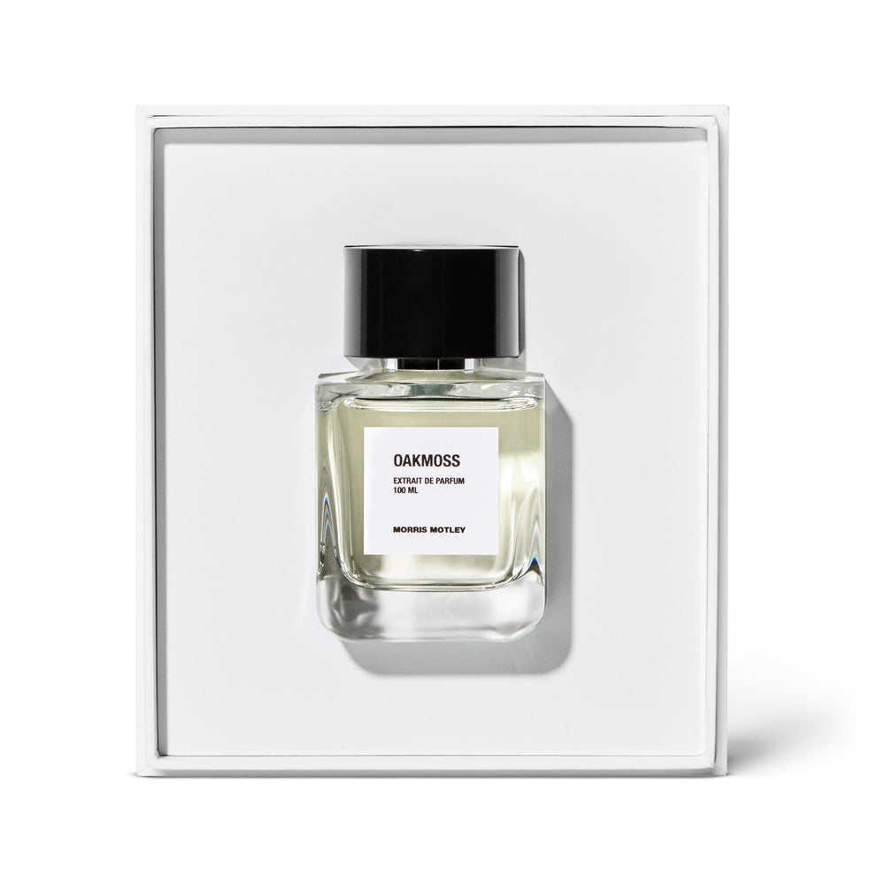 Morris Motley Oakmoss Fragrance 100ml | 10% off first order | Free express shipping and samples