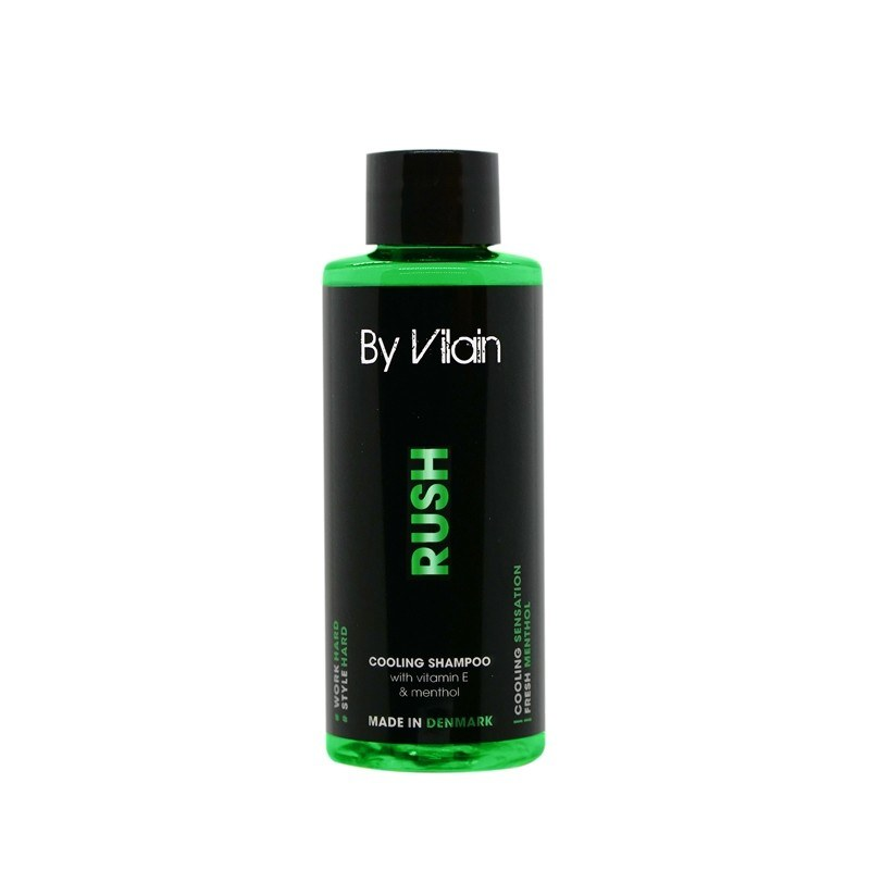 By Vilain Rush Shampoo | 10% off first order | Free express shipping and samples