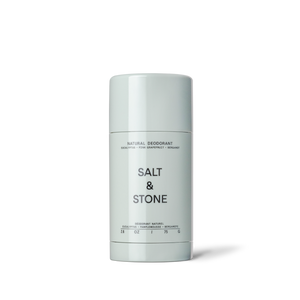 Salt & Stone Natural Deodorant - Eucalyptus + Bergamot | 10% off first order | Free express shipping and samples