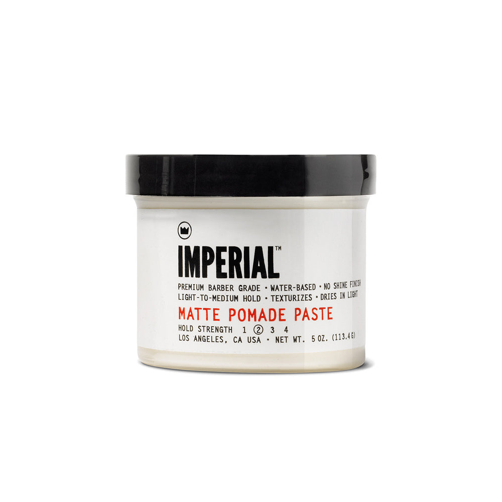 Imperial Barber Matte Pomade Paste | 10% off first order | Free express shipping and samples