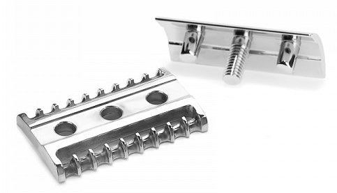 MÜHLE R41 Traditional Chrome Safety Razor | 10% off first order | Free express shipping and samples