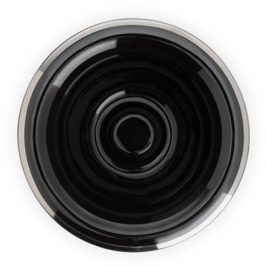 MÜHLE Shaving Bowl in Black Porcelain | 10% off first order | Free express shipping and samples