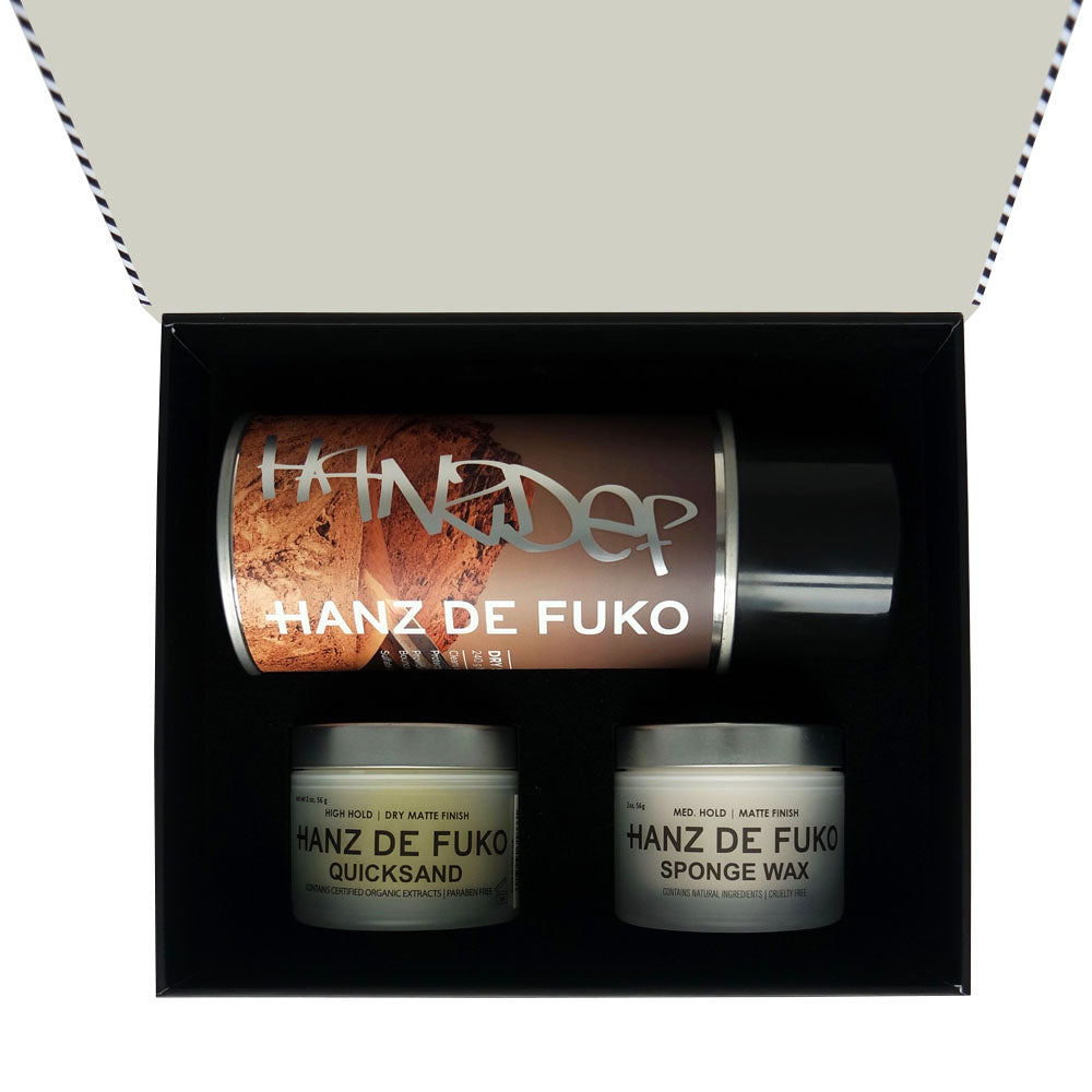 Hanz de Fuko Matte Styling Kit | 10% off first order | Free express shipping and samples
