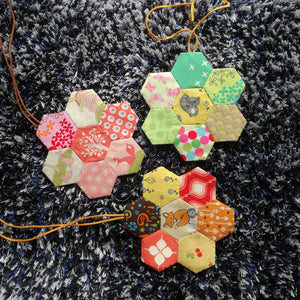 My #jomhexies journey part 2 and what we can create from hexies patchwork.