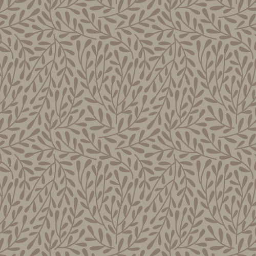 "Dancing Vines Gray | ONE YARD PRE-CUT (36""X45"")"