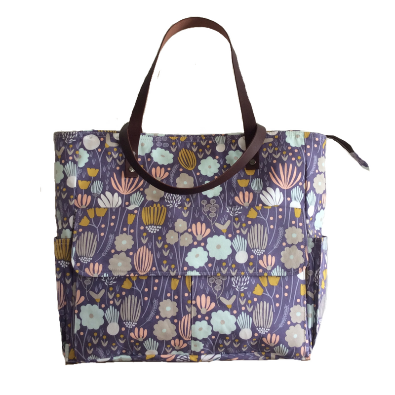 Rich meadow | Navy Tote Bag