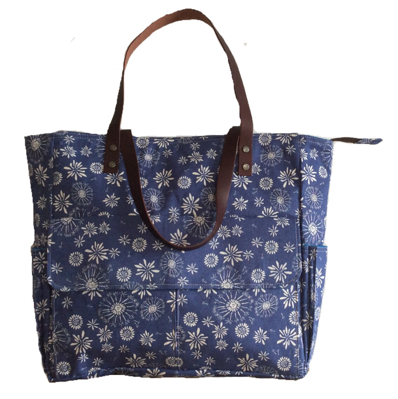 Tumble | Navy Tote Bag