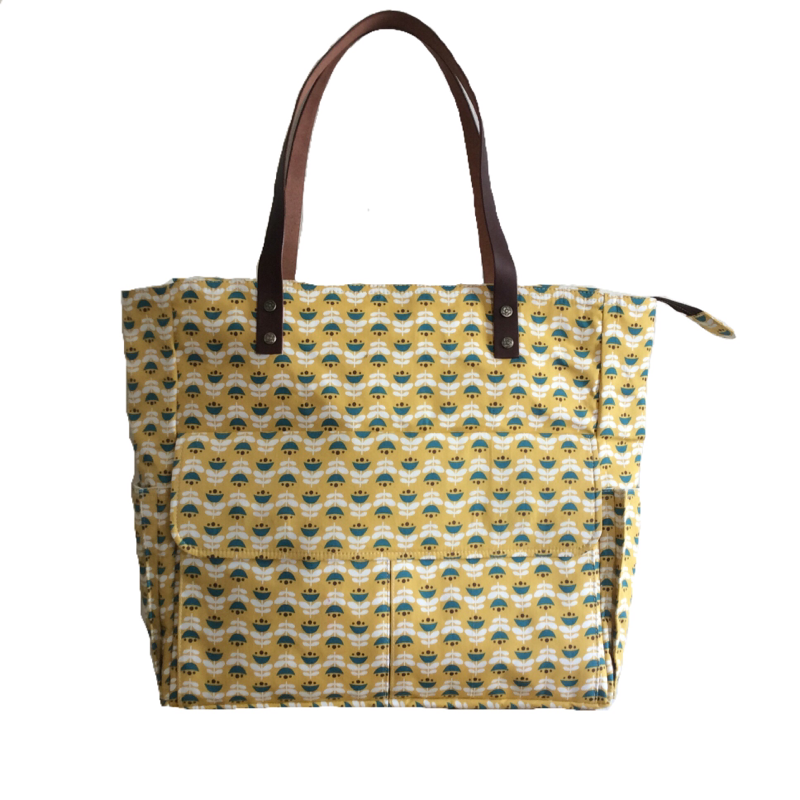 Blomme | Yellow Tote Bag