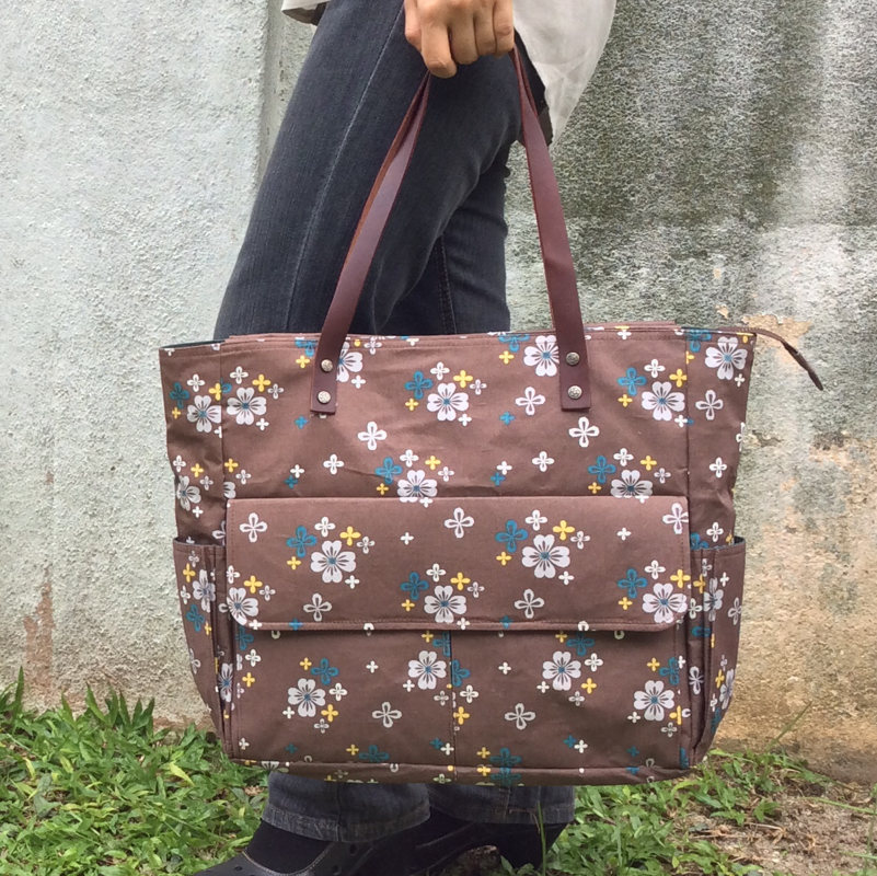 Dapple | Brown Tote Bag
