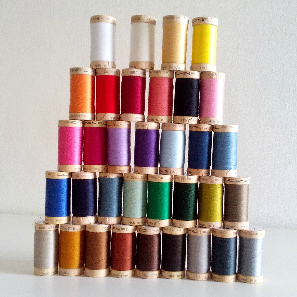 Organic Cotton Thread (300 yards)