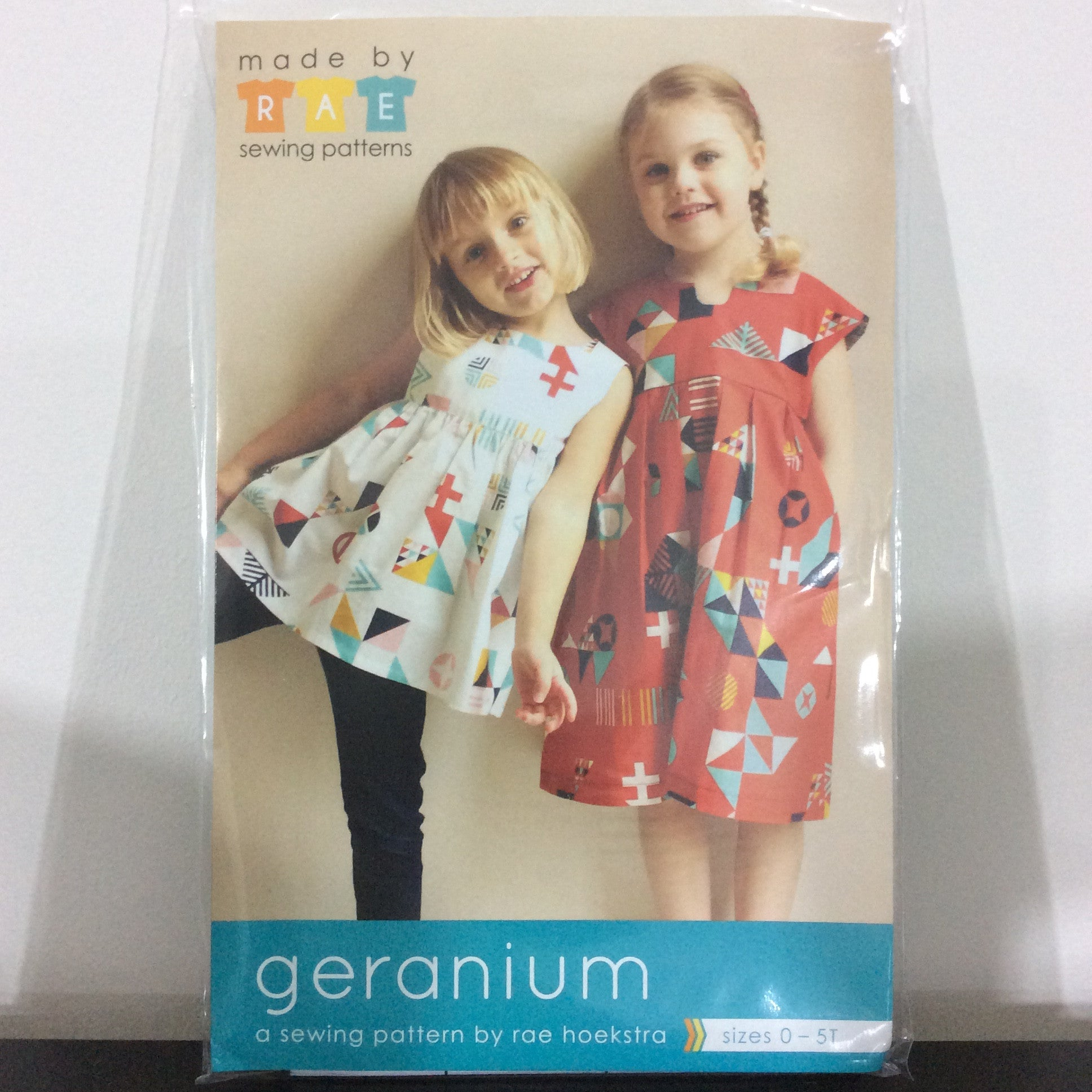 Geranium dress sewing pattern