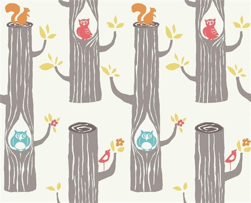 "Woodland Friends | Knit | HALF YARD PRE-CUT (18""X45"")"