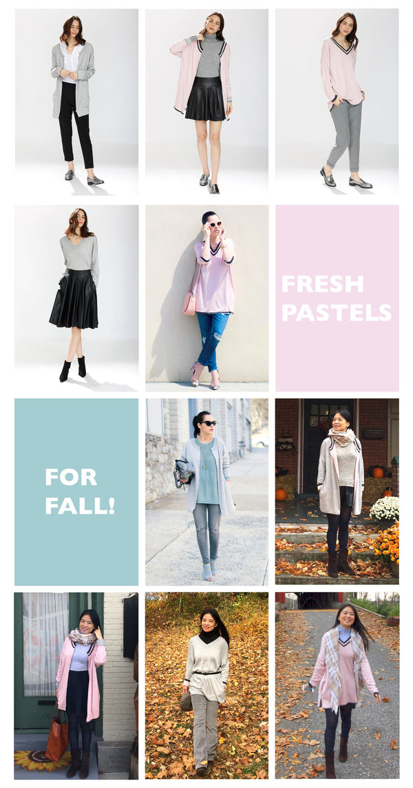 Bring Fresh Pastels Into Your Fall Wardrobe, 10 Ways!