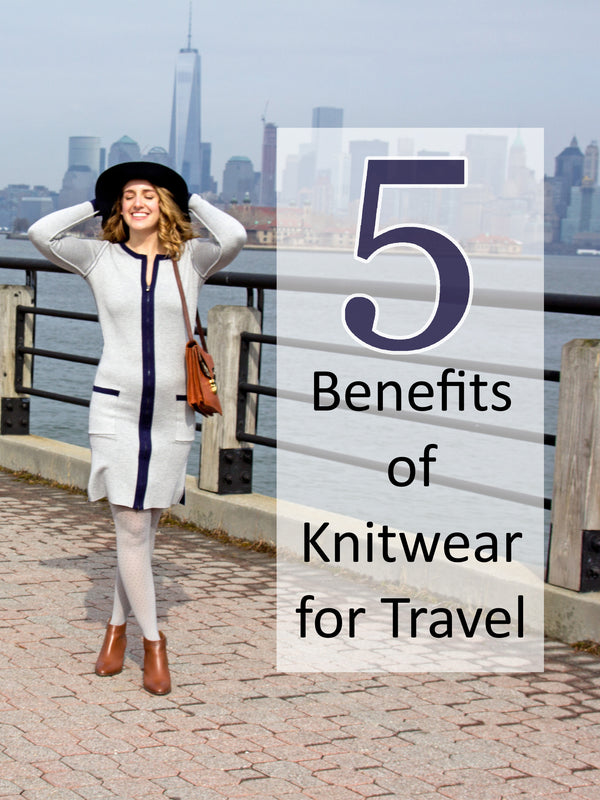 5 Benefits of Knitwear for Travel