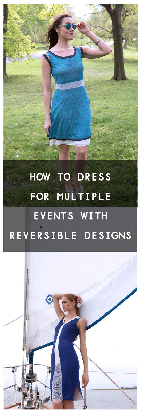 How to Dress for Multiple Events with Reversible Designs