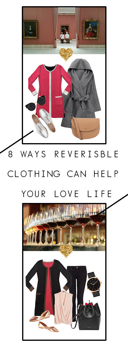 8 Ways Reversible Clothing Can Help your Love Life