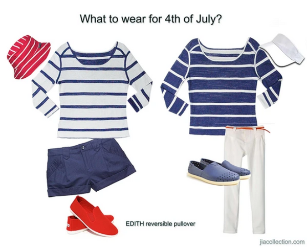 What to Wear 4th of July (with reversible designs)