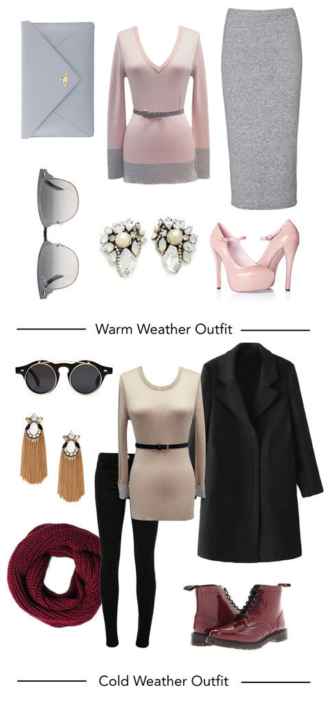 How to Dress for Unpredictable Weather