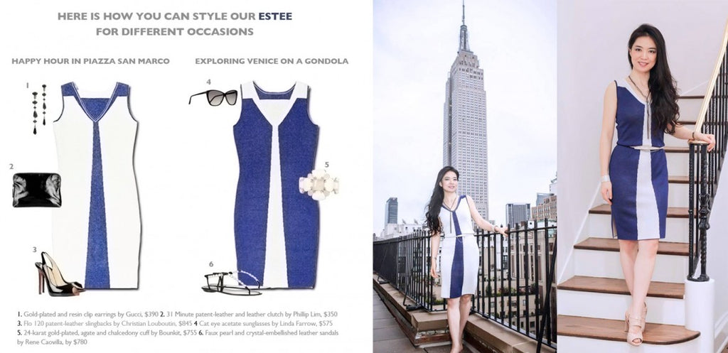 Estee Reversible Dress Jia Collection