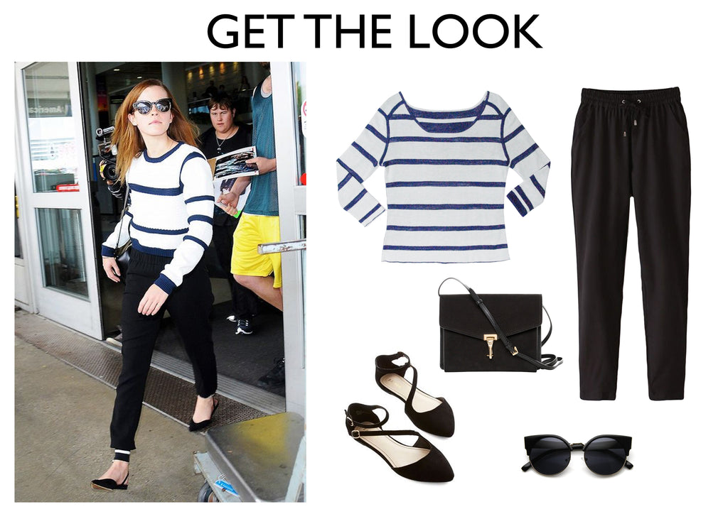 travel knitwear - Emma Watson - jia collection Edith reversible sweater