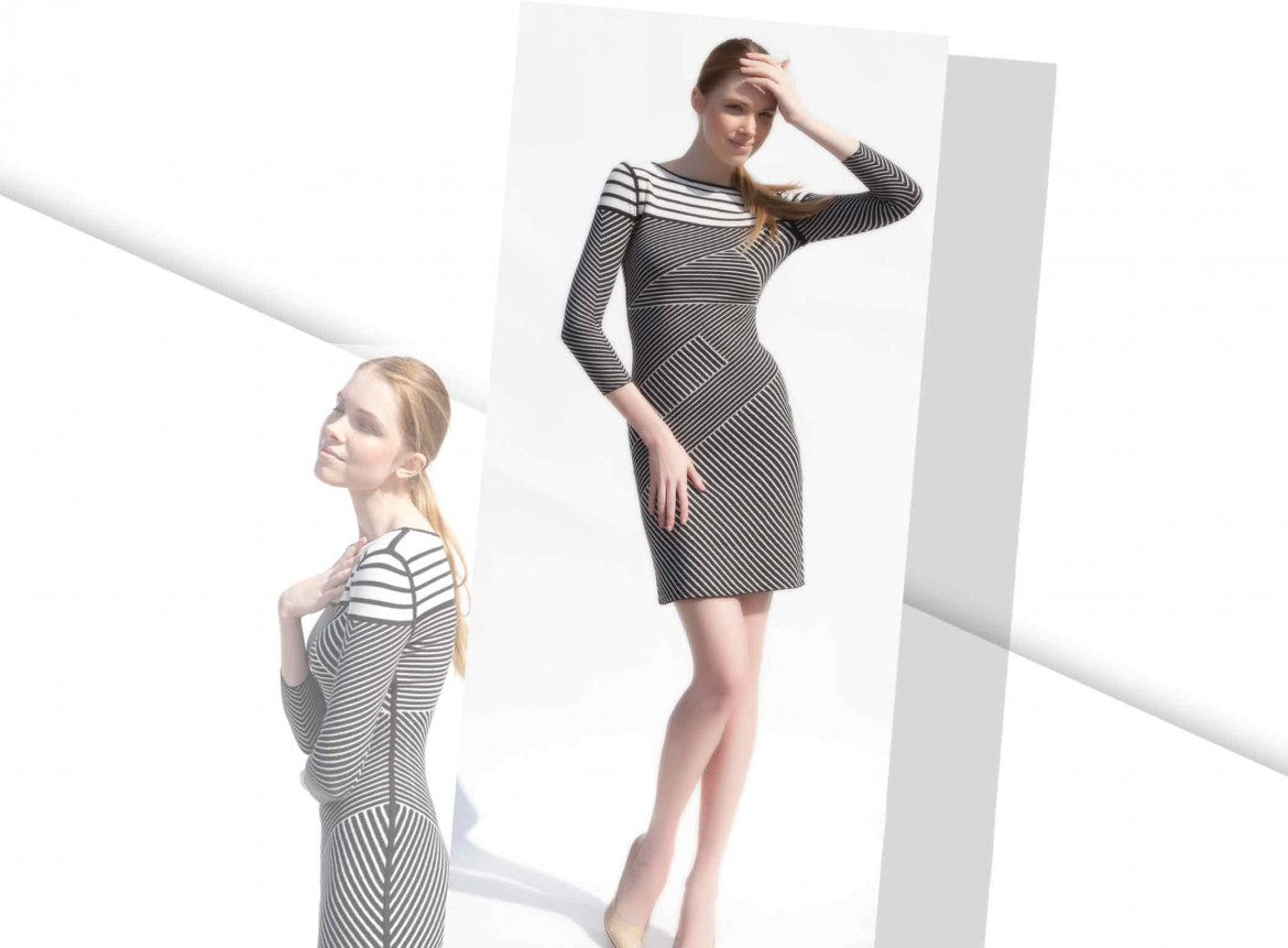 Johana reversible knit dress_Jia Collection