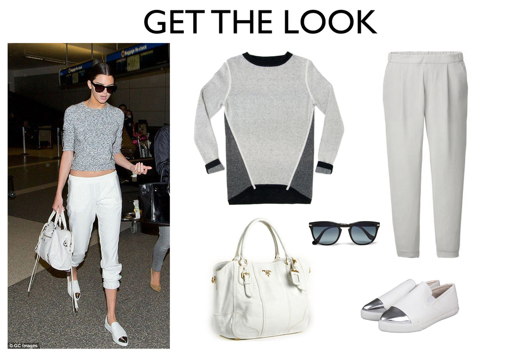 travel knitwear - Kendall Jenner - jia collection Claudette reversible sweater